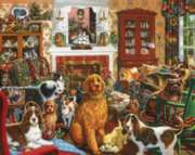 Dog House - 1000pc Jigsaw Puzzle by White Mountain