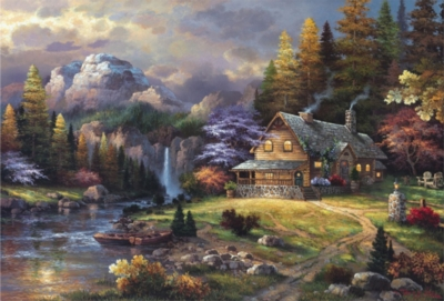 Mountain Hideaway - 4000pc Jigsaw Puzzle By Educa