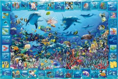 Dolphin Kingdom - 5000pc Jigsaw Puzzle By Educa