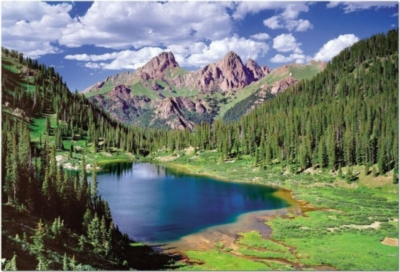 Educa Jigsaw Puzzles - Needle Mountains, Colorado