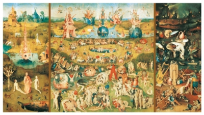 Bosch: The Garden Of Earthly Delights - 9000pc Jigsaw Puzzle By Educa