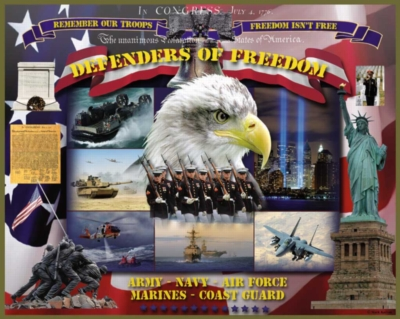 Defenders of Freedom - 1000pc Jigsaw Puzzle by White Mountain