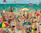 What a Beach! - 1000pc Jigsaw Puzzle by White Mountain