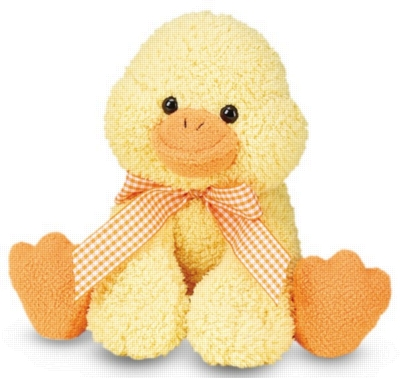 "Meadow Medley Ducky - 9"" Duck By Melissa & Doug"