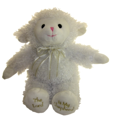 "23rd Psalm Lamb - 12"" Lamb By Melissa & Doug"