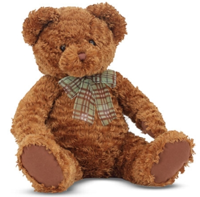 "Chestnut Bear - 13"" Bear By Melissa & Doug"