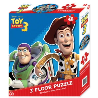 Disney: Pixar Toy Story 3 - 46pc Shaped Floor Jigsaw Puzzle