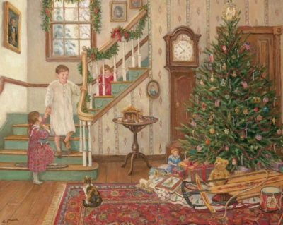 Hard Jigsaw Puzzles - An Olde Fashioned Christmas