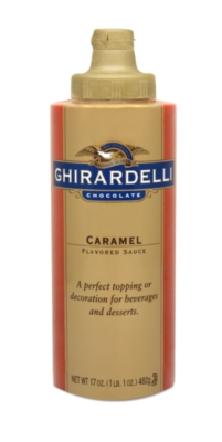 Ghirardelli Caramel Sauce - 17 oz. Squeeze Bottle