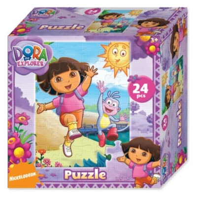 Dora the Explorer - 24pc Jigsaw Puzzle