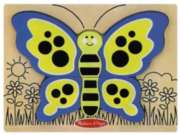 Children's Puzzles - My First Chunky Puzzle: Butterfly