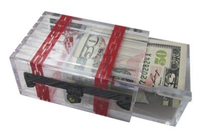 Seriously Secret Treasure Box - Money Puzzle