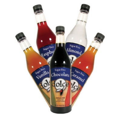 Dolce Sugar Free Syrup - 750 ml. Plastic Bottle