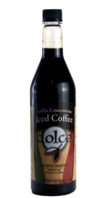 Dolce Iced Coffee Concentrates - 750 ml. Plastic Bottle Assorted Case