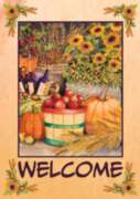 Autumn Bounty - Garden Flag by Toland