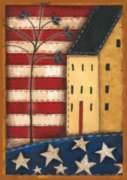 Land of the Free - Garden Flag by Toland