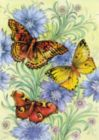 Flowers & Butterflies - Garden Flag by Toland