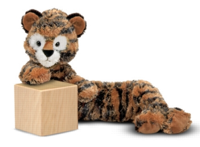 "Longfellow Tiger - 20"" Tiger by Melissa & Doug"