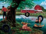 Cobble Hill Jigsaw Puzzles - The Swimming Hole