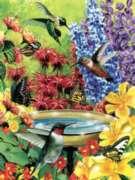 Cobble Hill Jigsaw Puzzles - Hummingbird Garden