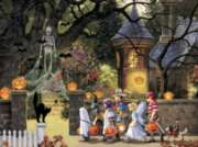 Halloween Buddies - 400pc Family Style Jigsaw Puzzle by Cobble Hill