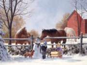 Cobble Hill Jigsaw Puzzles - Frosty's Friends