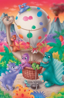 Cobble Hill Children's Puzzles - Dino Balloon