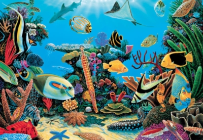 Rescue Reef - 500pc Jigsaw Puzzle by Great American Puzzle Factory