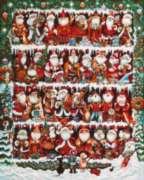 Where is the Real Santa? - 500pc Jigsaw Puzzle by Masterpieces