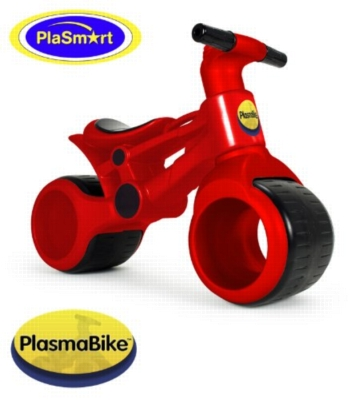 Red Plasma Bike - Balance Bike & Ride On Toy