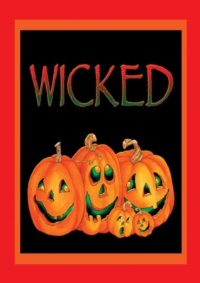 Wicked - Standard Flag by Toland