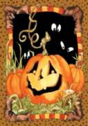 Jack Pumpkin - Standard Flag by Toland
