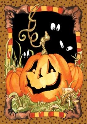 Jack Pumpkin - Standard Flag by Toland