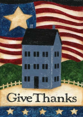 Give Thanks - Standard Flag by Toland