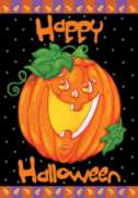 Happy Halloween - Standard Flag by Toland
