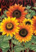 Sunflower Medley - Standard Flag by Toland