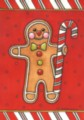 Gingerbread Man - Standard Flag by Toland