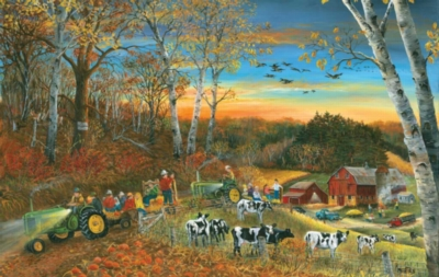 Hayride - 550pc Jigsaw Puzzle By Sunsout