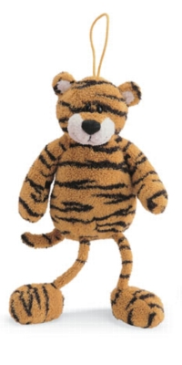 "Slickner - 9"" Tiger Zoozles by Gund"