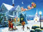 Santa's Here - 1000pc Jigsaw Puzzle By Sunsout