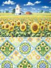 Sunflowers Quiltscape - 1000pc Jigsaw Puzzle By Sunsout