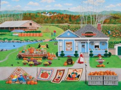 Jigsaw Puzzles - Pies, Pastries & Pumpkins