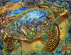 Sea Turtle World - 1000pc Jigsaw Puzzle By Sunsout