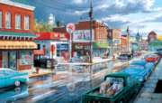 Reflections of Main Street - 1000pc Jigsaw Puzzle By Sunsout