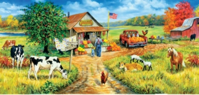 Aunt Fay's Market - 1000pc Jigsaw Puzzle By Sunsout