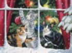 Chasing Snowflakes - 1000+pc Large Format Jigsaw Puzzle By Sunsout