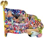 Shaped Jigsaw Puzzles - Freedom Parade