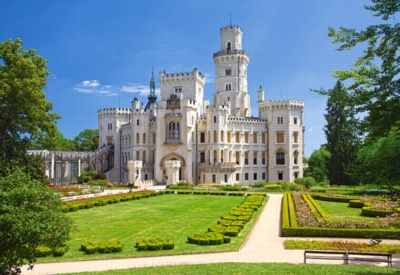 Hluboka Castle, Czech Republic - 1000pc Jigsaw Puzzle by Castorland