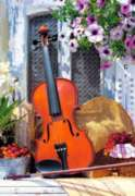Violin's Melody - 1000pc Jigsaw Puzzle by Castorland