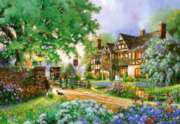 The Old Coach Inn  - 2000pc Jigsaw Puzzle By Castorland